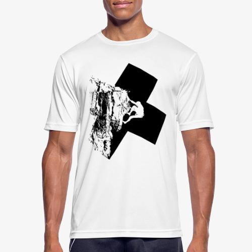 Rock climbing - Men's Breathable T-Shirt