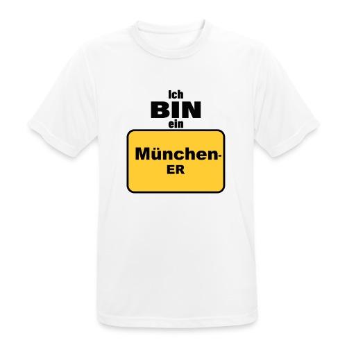 München/Ich bin ein Münchener - Männer T-Shirt atmungsaktiv