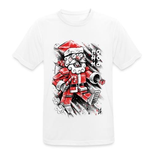Robot Santa Claus - Men's Breathable T-Shirt