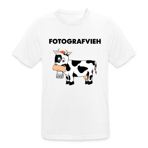 Fotografvieh - Männer T-Shirt atmungsaktiv