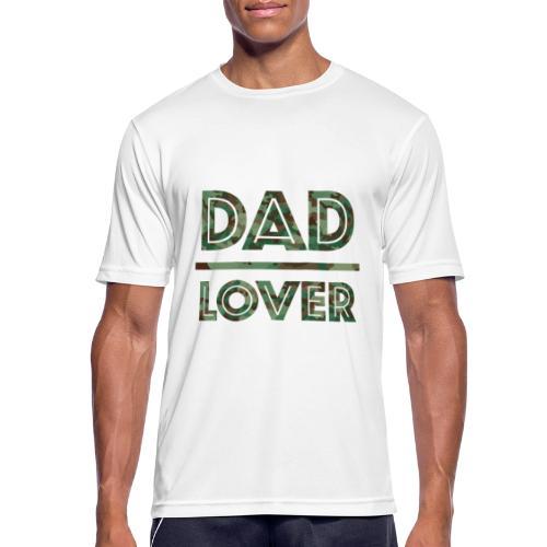 DAD LOVER - Andningsaktiv T-shirt herr