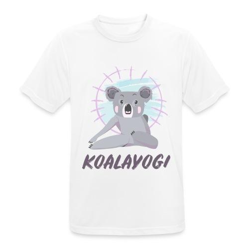 Koalayogi - Pustende T-skjorte for menn