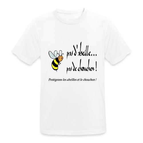 Pas d'abeille, pas de chouchen - T-shirt respirant Homme
