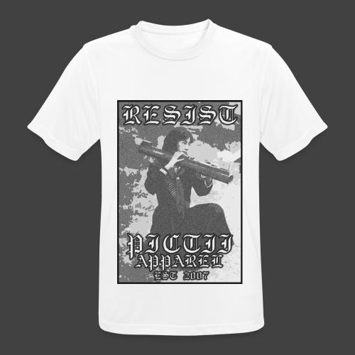 PICTRESIST6 - BW - Men's Breathable T-Shirt