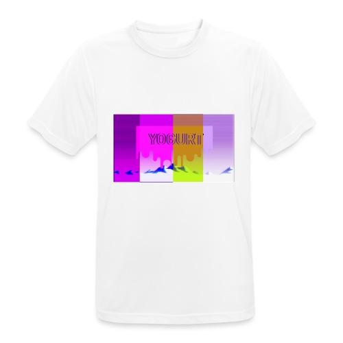 vaporwave yogurth - Maglietta da uomo traspirante