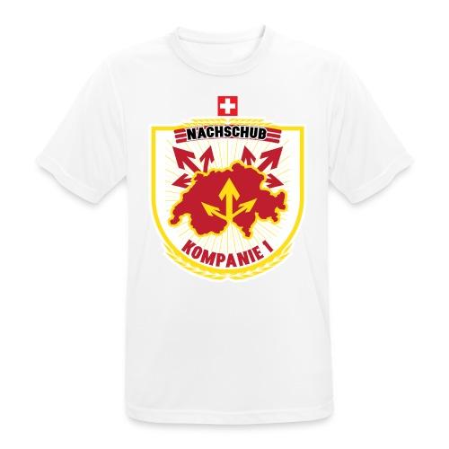 Nachschubsoldat Kompanie 1 - Männer T-Shirt atmungsaktiv