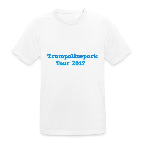 Trampolinepark Tour 2017 - Mannen T-shirt ademend actief