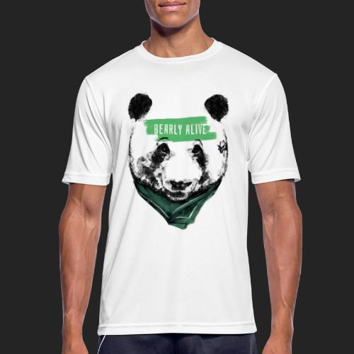 Panda bearly alive - T-shirt respirant Homme
