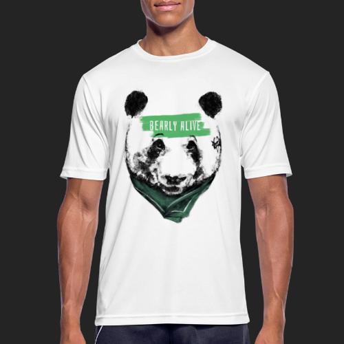 Panda bearly alive - T-shirt respirant Homme