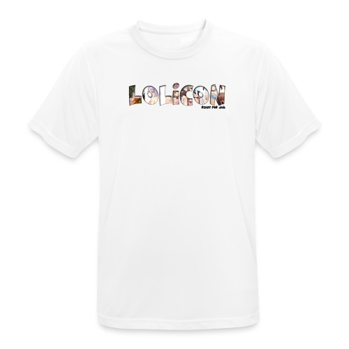 lolicon ready for jail - T-shirt respirant Homme