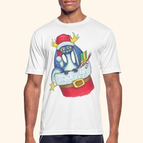 Juldrake - Andningsaktiv T-shirt herr