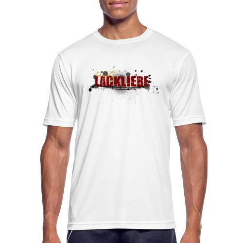 LACKLIEBE - Männer T-Shirt atmungsaktiv