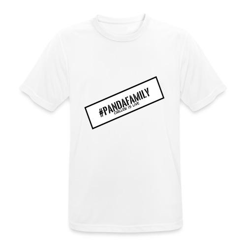 #PandaFamily [Balken] - Männer T-Shirt atmungsaktiv