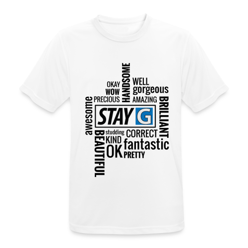 StayG One - Männer T-Shirt atmungsaktiv