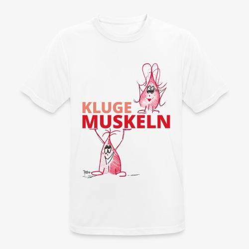 Kluge Muskeln - Männer T-Shirt atmungsaktiv