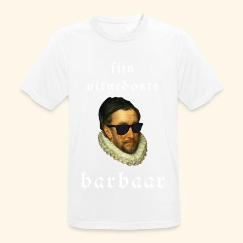 Fijn Uitgedoste Barbaar - Mannen T-shirt ademend actief