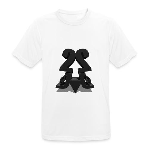 2j_3D - Herre T-shirt svedtransporterende