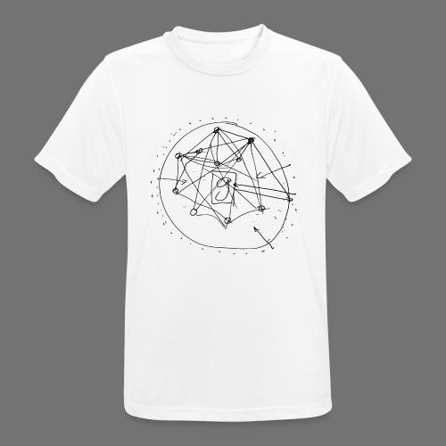 SEO strategia No.1 (musta) - miesten tekninen t-paita