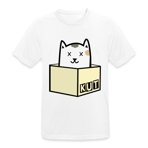 Kitten Los Default Colours - Mannen T-shirt ademend