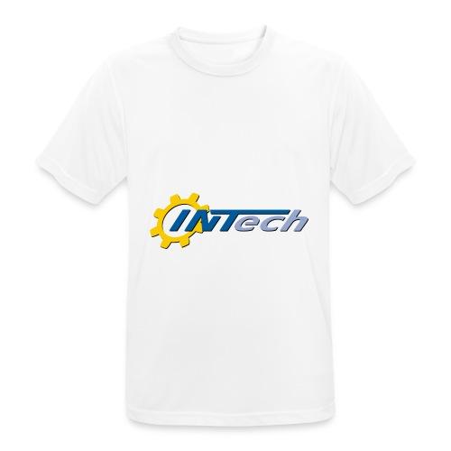 intech_logo - T-shirt respirant Homme