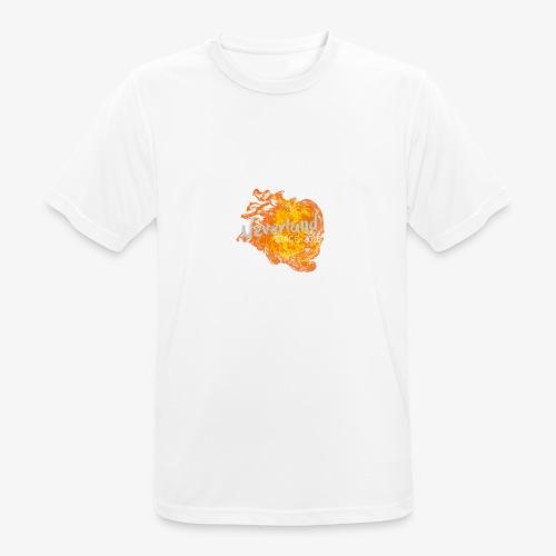 NeverLand Fire - Mannen T-shirt ademend actief