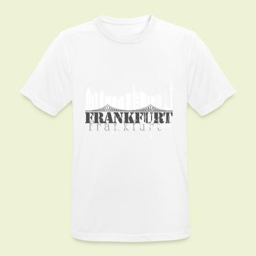 FFM - Frankfurt Skyline - Männer T-Shirt atmungsaktiv