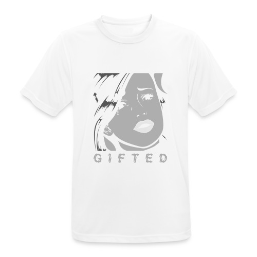 Gifted Comic - mannen T-shirt ademend