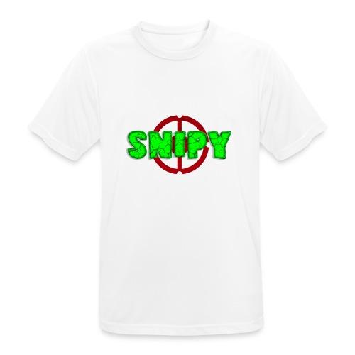 Snipy - Maglietta da uomo traspirante