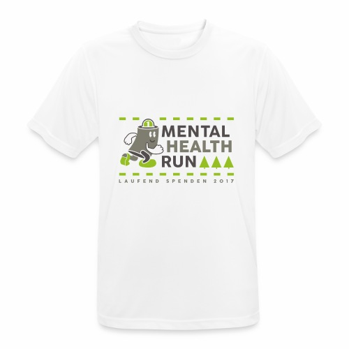 mental health run 2017 - Männer T-Shirt atmungsaktiv