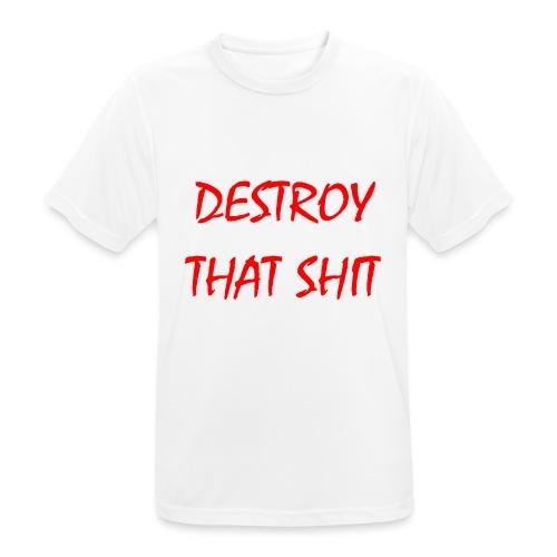 DestroyThatSh ** _ red - Men's Breathable T-Shirt