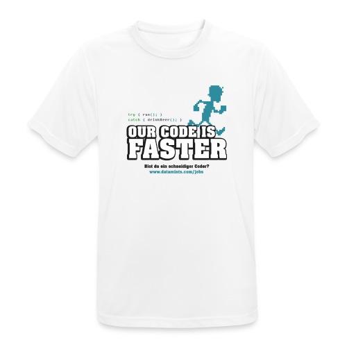 datamints Firmenlauf Trikot VS04 psd png - Männer T-Shirt atmungsaktiv