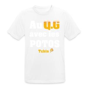 Tous au QG !!! - T-shirt respirant Homme