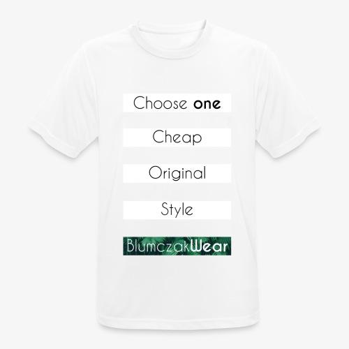 Choose one... - Koszulka męska oddychająca
