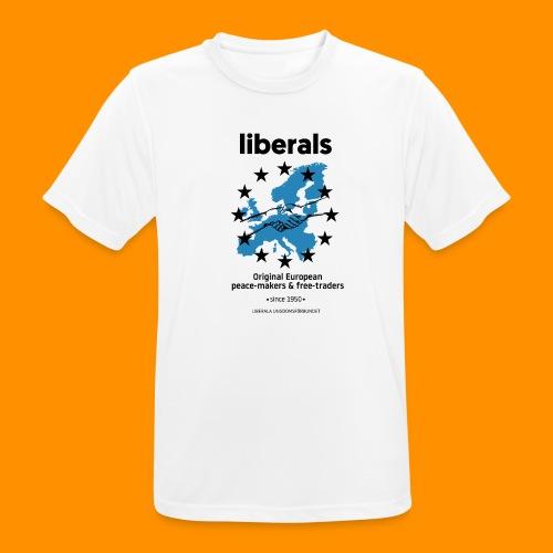 OG european liberals - Andningsaktiv T-shirt herr