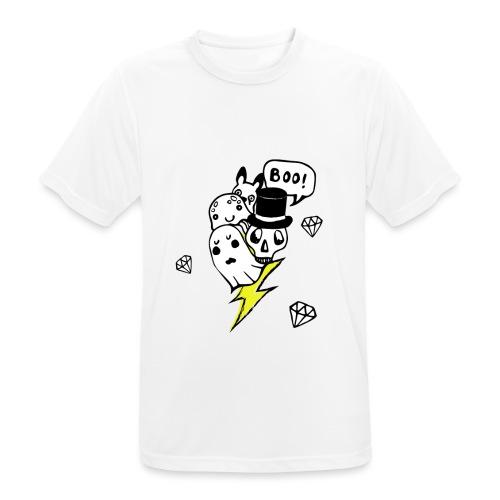 Boo! - Koszulka męska oddychająca