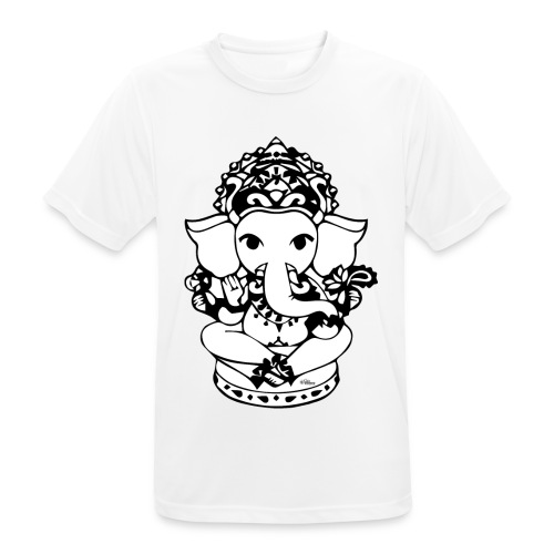 Wee Ganesh - Men's Breathable T-Shirt