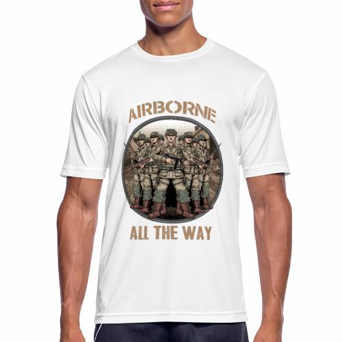 Airborne - Tout le chemin - T-shirt respirant Homme