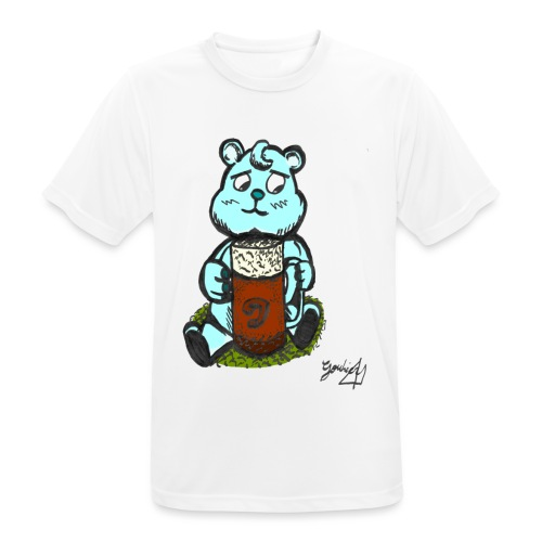 Ours Triste AngelerasCorp - T-shirt respirant Homme
