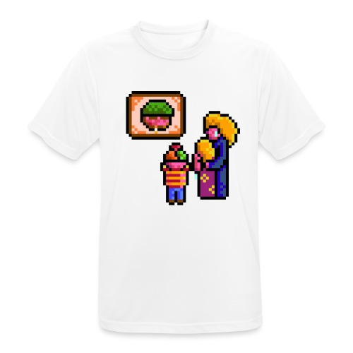 familycri - Pustende T-skjorte for menn