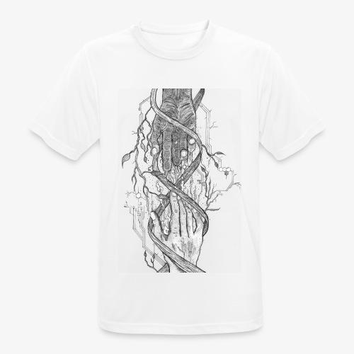 Reconnect - Narrow Transparent Edition by Rivinoya - miesten tekninen t-paita