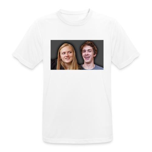 Profil billede beska ret - Herre T-shirt svedtransporterende