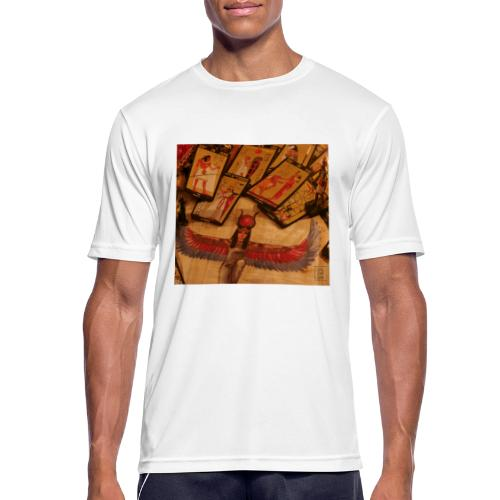 Tarocchi egizi - Maglietta da uomo traspirante