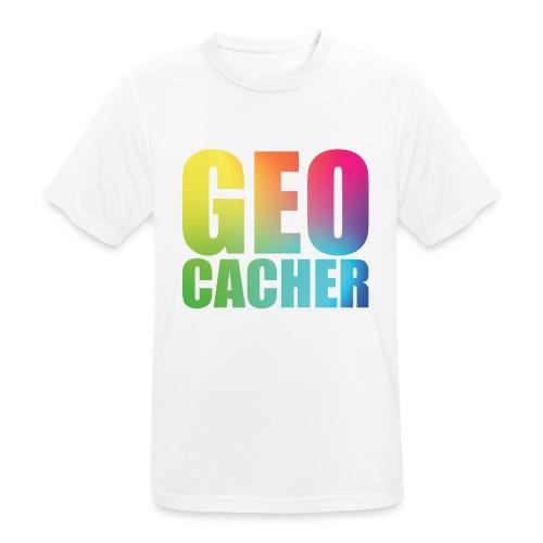 Geocacher (summer2016) - miesten tekninen t-paita
