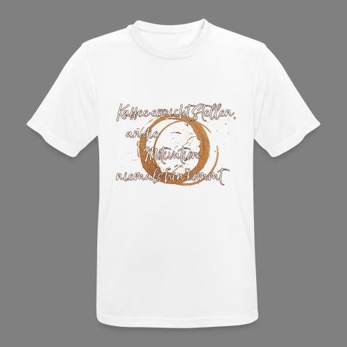 Kaffee - Männer T-Shirt atmungsaktiv