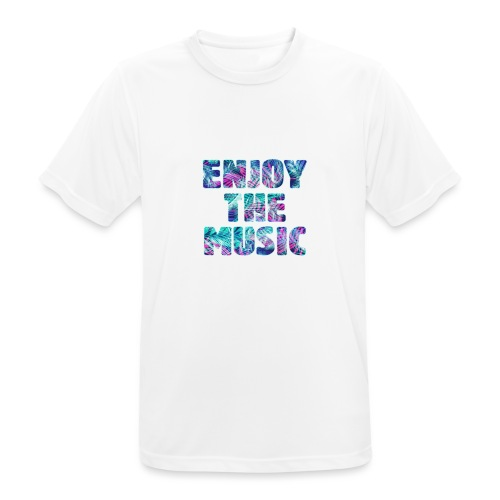 ENJOYTHEMUSIC PALMTREE - Camiseta hombre transpirable