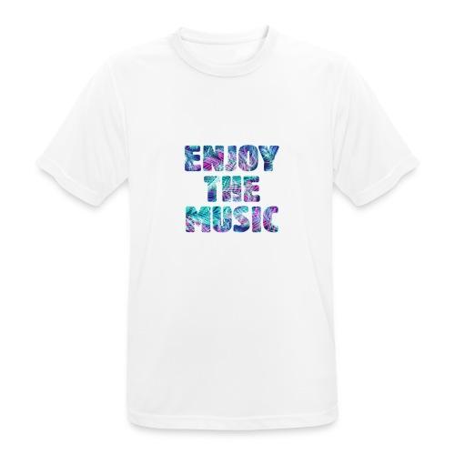 ENJOYTHEMUSIC PALMTREE - Camiseta hombre transpirable