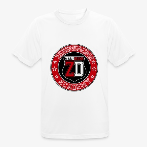 Zebendrums Academy - Camiseta hombre transpirable