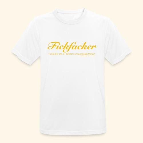 Fickfacker - Männer T-Shirt atmungsaktiv