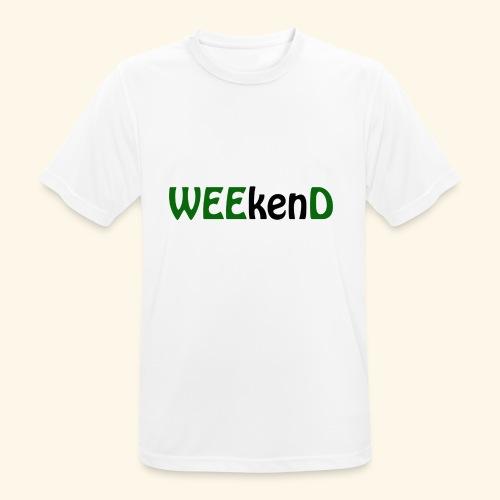 weed - Männer T-Shirt atmungsaktiv