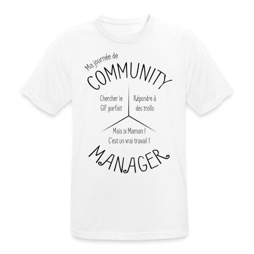 Le Design idéal pour le Community Manager - T-shirt respirant Homme